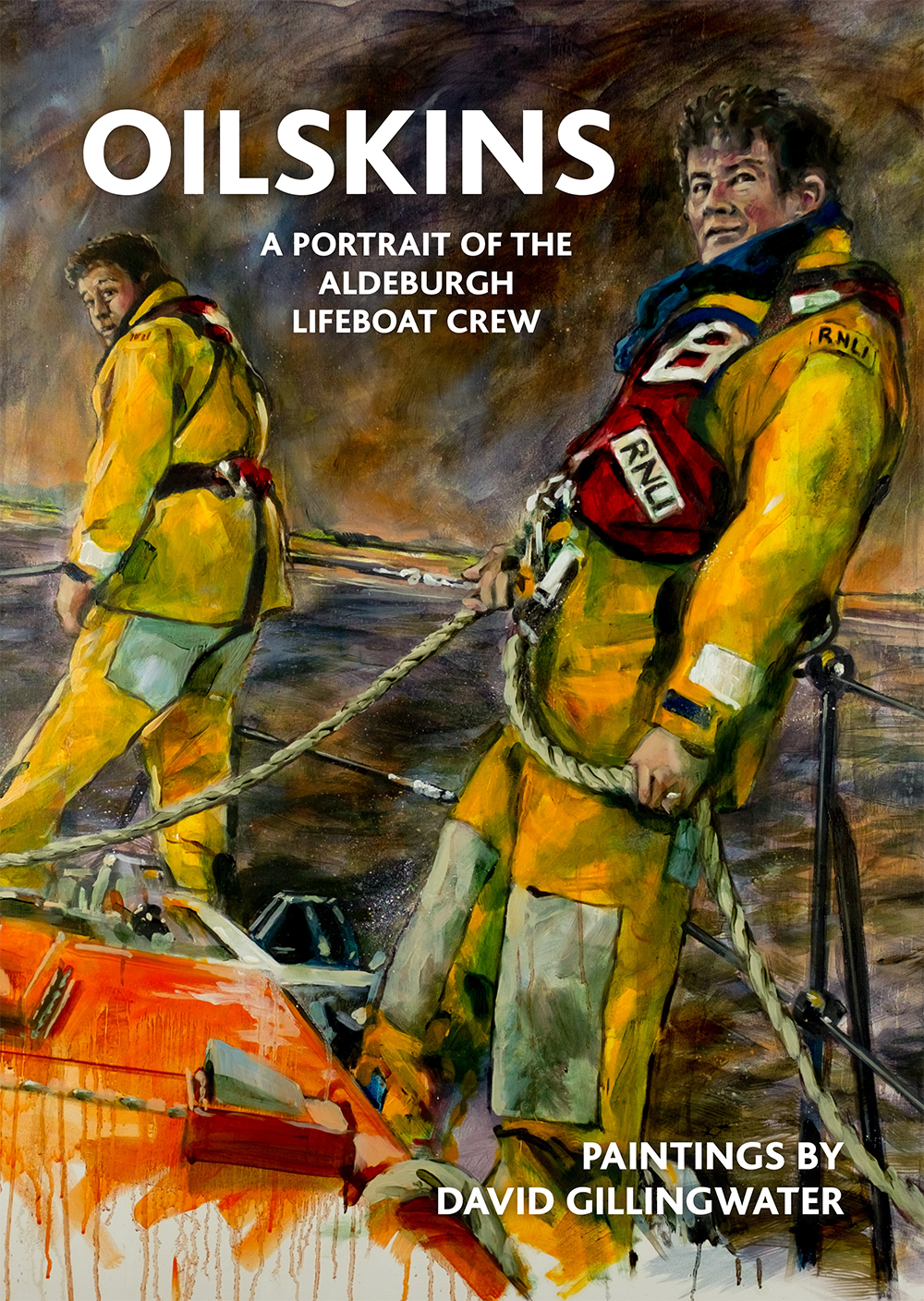 Oilskins - portrait of the Aldeburgh Lifeboat Crew